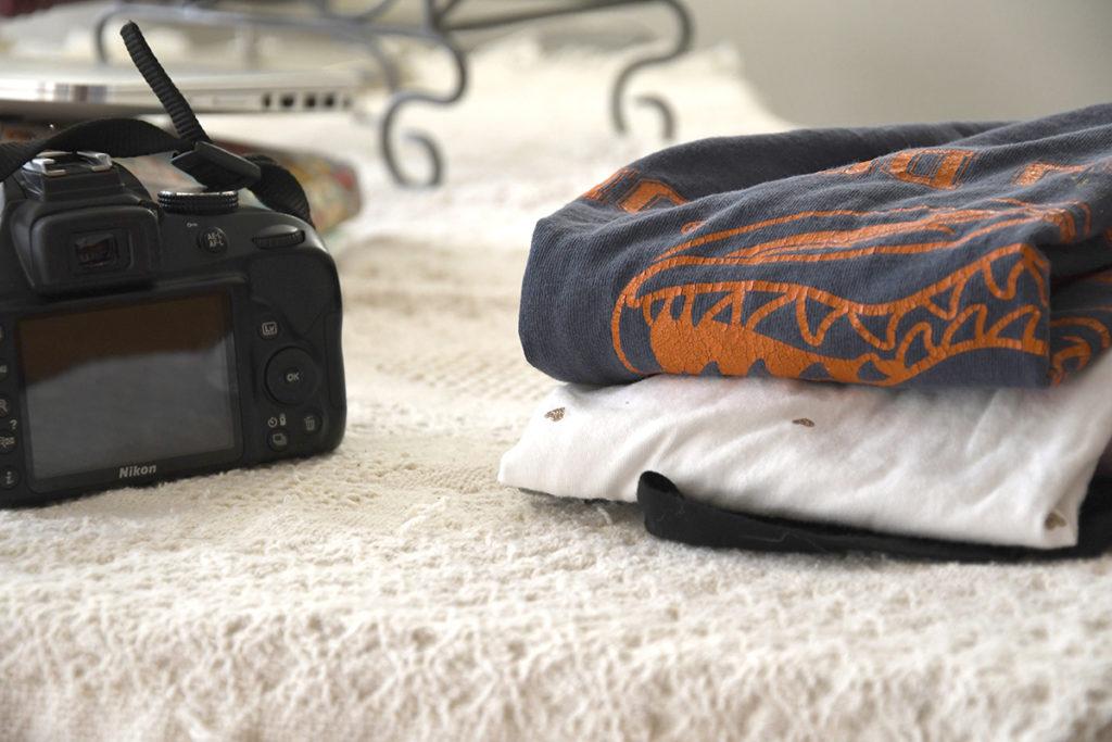 Laundry and camera