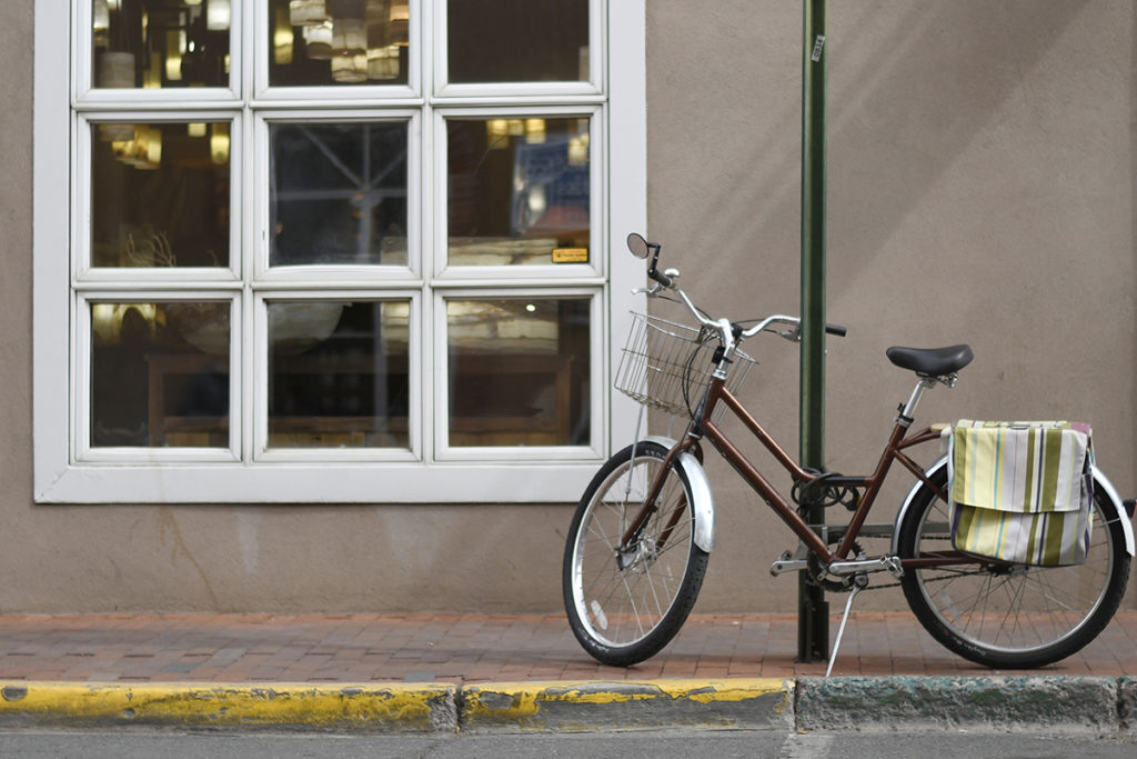Bicycle in Santa Fe