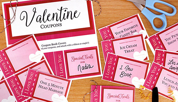 Valentine Coupon Printable